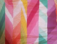 New Pottery Barn Kids Rainbow Pink Purple Yellow Green Twin Duvet Cover