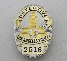 DETECTIVE LA 2 5 1 6  Metal Copper cosplay Badge US 01