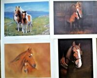 Horse Prints Set 4 by British Thomas Newman  Lith'od in Canada by Regency Int.