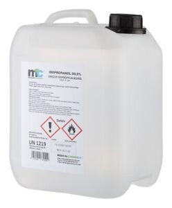 5 Liter Isopropanol 99,9% Isopropylalkohol Alkohol Reiniger deutsche Herstellung