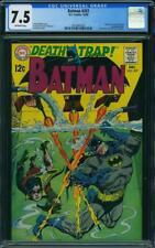 Batman 207 CGC 7.5 -- 1968 -- Death Trap. Classic Irv Novick cover #2014461020