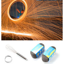 Photography Props Steel Wool Metal Fiber Fireworks Light Painting Special Effect