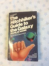 Douglas Adams SIGNED Hitchhiker's Guide to the Galaxy US paperback