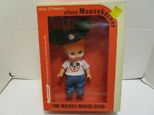 VINTAGE HORSMAN WALT DISNEY'S OFFICIAL MOUSEKETEER BOY DOLL ***NEW IN BOX***