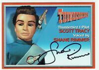 Thunderbirds Cards Inc 2001 Autograph Card A3 Shane Rimmer as Scott Tracy Pilot