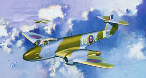 Dragon Plastic Model Kits Warbirds #5084 1/72 Gloster Meteor F.1