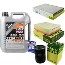 Inspection Kit Filter Liqui Moly Oil 5L 5W-30 for VW Passat Variant 3B6 1.8 T.