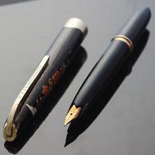Vintage Platinum 1960 Pocket Urushi Modern Makie 18K Gold F Nib Fountain pen