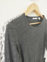 Country Road Linen Grey Cotton Animal Print Long Sleeve Top Bundle X 2 {XS/ S}