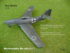 Messerschmitt Me 262 HG V      1/72 Bird Models Umbausatz / conversion kit