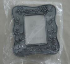 Longaberger Horizon of Hope Miniature Pewter Table Top Picture Frame New
