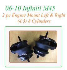 9L0301 2pc Motor Mounts fit Infiniti M45 2006-2010 Left Right Engine Mounts