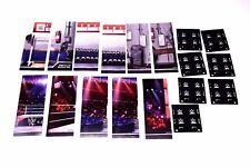 WWE Mattel Elite Background Display Stand Diorama LOT Wrestling Figure Props_s11