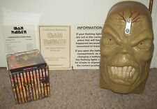 1998 Iron Maiden Eddie's Head Rare Box Set Discography archive tix guitar vinyl