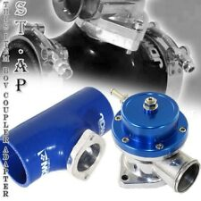 "Jdm Turbo Blow Off Valve Bov Type S Blue 30 Psi 2.5"" Reinforce Adapter Pipe Blue"