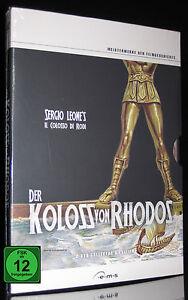 DVD DER KOLOSS VON RHODOS - COLLECTOR'S EDITION - UNGESCHNITTEN UNCUT ** NEU **