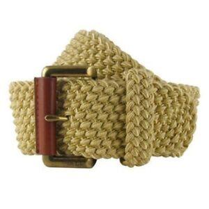 LAUREN Ralph Lauren Nylon Cord wide woven Belt