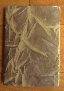Taupe Handmade Himalayan Eco-friendly Bamboo Leaf Design Journal Book
