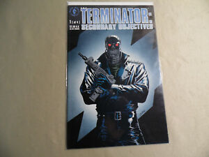 Terminator Secondary Objectives #1 (Dark Horse 1991) Free Domestic Shipping