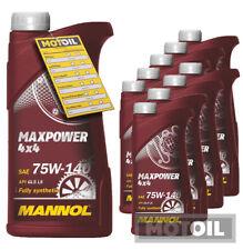 (5,19€/1l) 10 Liter (10x1) MANNOL Maxpower 4x4 75W-140 API GL 5 Getriebeöl