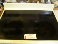 FRIGIDAIRE STOVE  316098121  Main Top, Glass, Almond USED