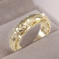 Elegant Rings for Women 925 Silver,Rose Gold,Gold jewelry Ring Size 6-12