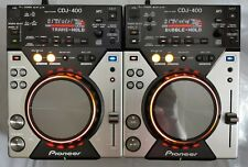 More details for 2 x pioneer cdj 400, serviced, fully working, cd mp3 usb pc controller rekordbox