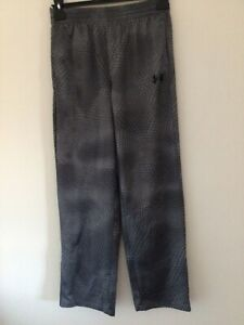 """Under Armour Age 14-16 Years Grey Mix L 30"""" Polyester track bottoms"""