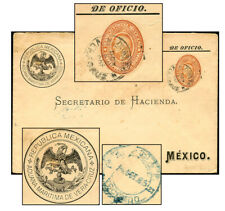 MEXICO ADUANA MARITIMA OFFICIAL PSE OC 1886 OFF8