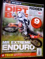 Australasian Dirt Bike Issue 366 March 2010 Mr Extreme Enduro magazine