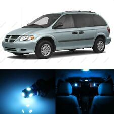 20 x ICE BLUE LED Interior Light Package For 2001 - 2007 Dodge Caravan + TOOL