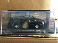 "DIE CAST  "" CLK 350 CONVERTIBLE 2005 "" MERCEDES COLLECTION SCALA 1/43"