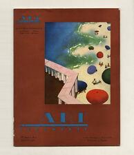 1930 Jean Besnard Ceramique ART ET INDUSTRIE Deco DESIGN Textiles Rene Herbst