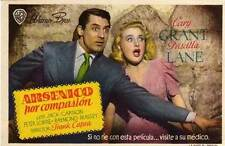 ARSENIC AND OLD LACE Movie POSTER 22x28 Half Sheet Cary Grant Priscilla Lane