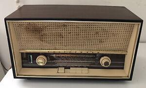 Rare 1960s Vintage Telefunken Jubilate De Luxe 1261 Radio West Germany WORKING!