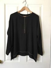 Zara Polyester Long Sleeve Casual Tops for Women