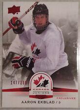 2014 UD Team Canada Juniors Exclusives #98 Aaron Ekblad 147/199-Panthers Draft