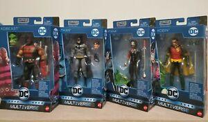 Mattel DC Comics Multiverse Action Figures 6 Different