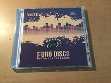 CD Euro Disco -The Lost Legends vol.18 (Lim. Edition: only 100 copies worldwide)