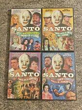4 RARE OOP El Santo DVD Lot! Also Features Blue Demon! *NO SUBTITLES* BRAND NEW!