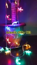 Ramadan Mubarak MIX string Light+Banner+10 balloons DELUXE PACK  Islamic GIFT