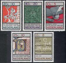 Países Bajos 1966 Caja de socorro/Imprenta/caballo/libros/escribir 5v Set (n30871)