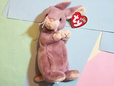 BEANIE BABY WILD BUNNY RABBIT SPRINGY DATE OF BIRTH: FEBRUARY 29, 2000  2000   T