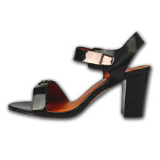 New Women's Black Natural Heel Leather For Women