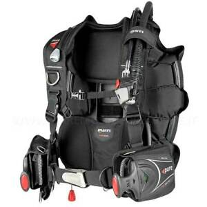 Jacket MARES Pure SLS With Pockets Port Weights For Scuba Bcd Vest