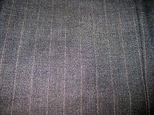 Roberto Villini 46R Dark Gray Wool Pinstriped Suit Jacket 3 Button Blazer Italy
