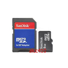 Sandisk 8GB 8G Micro SD SDHC 8 GB TF Micro SD with adapter  in Sydney