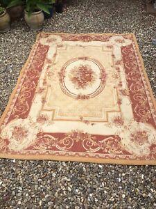 RARE large Laura Ashley AUBUSSON barouque  rug  160cm x 235cm