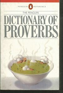 The Penguin dictionary of proverbs.  B014A