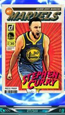 STEPHEN CURRY NUMBERD/500 Press prof Net Marvel Card (Panini Dunk App)